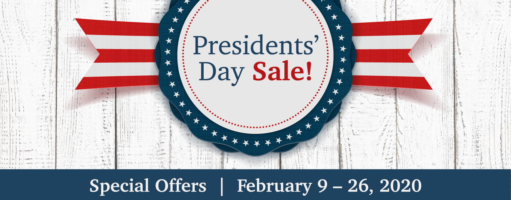 Maytag Presidents Day Event